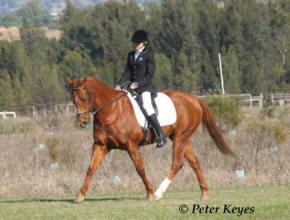 Nicole Kullen riding 'Royal Dancer'